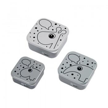 Set de 3 Cajas Contour Grey
