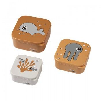 Set 3 Cajas Snacks Sea friends...