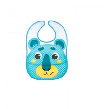 Babero Hello Little Azul
